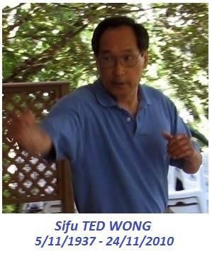 riconoscimenti alla scuola CAAM - Ted Wong