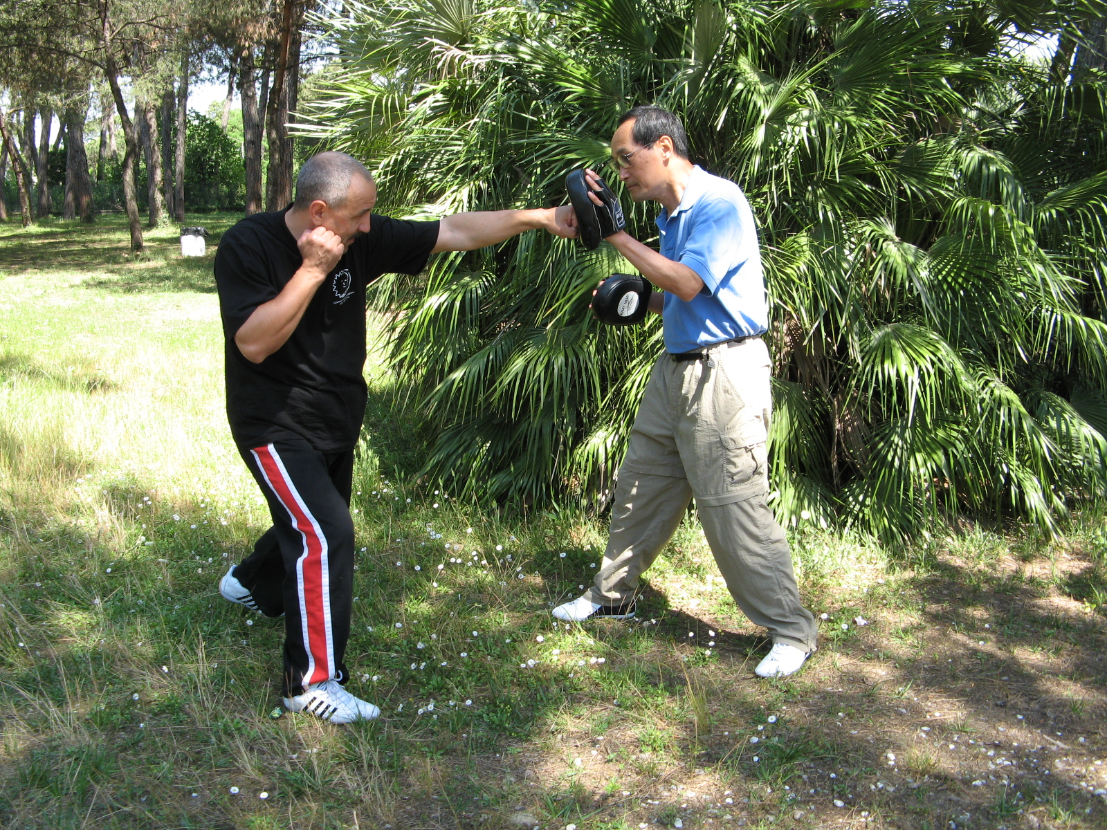 Jeet Kune Do Milano CAAM Fighters Terzulli Carmine e Ted Wong