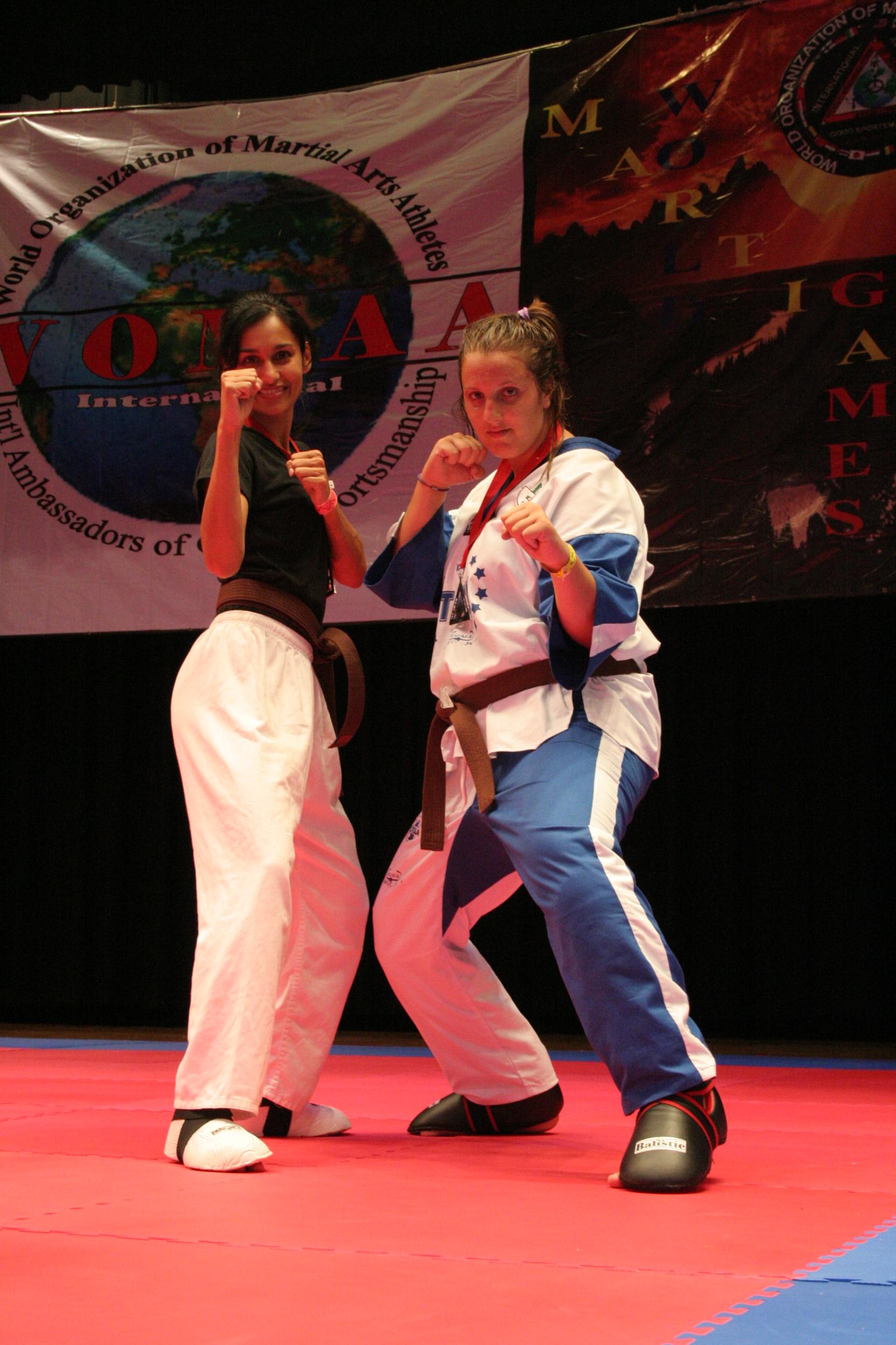 istruttori jkd milano Speringo Barbara campione Mondiale 2009