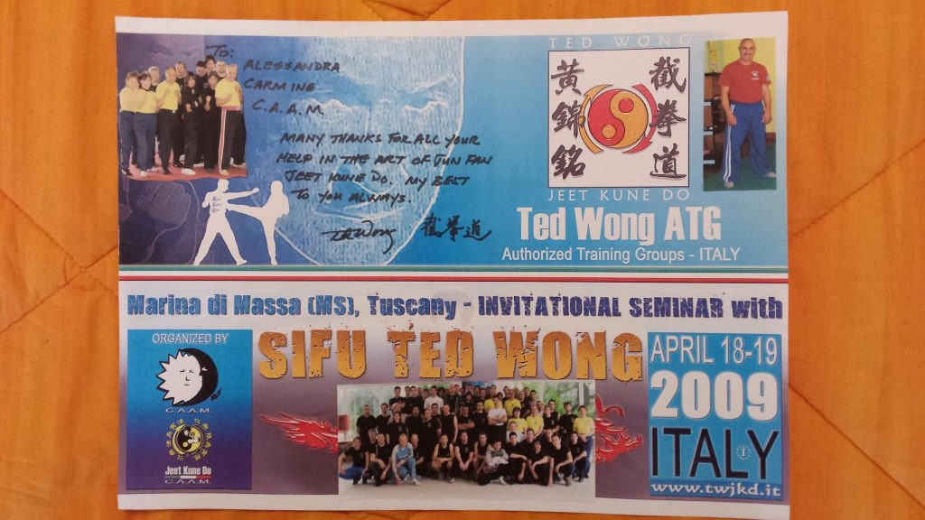 Locandina Seminario Ted Wong