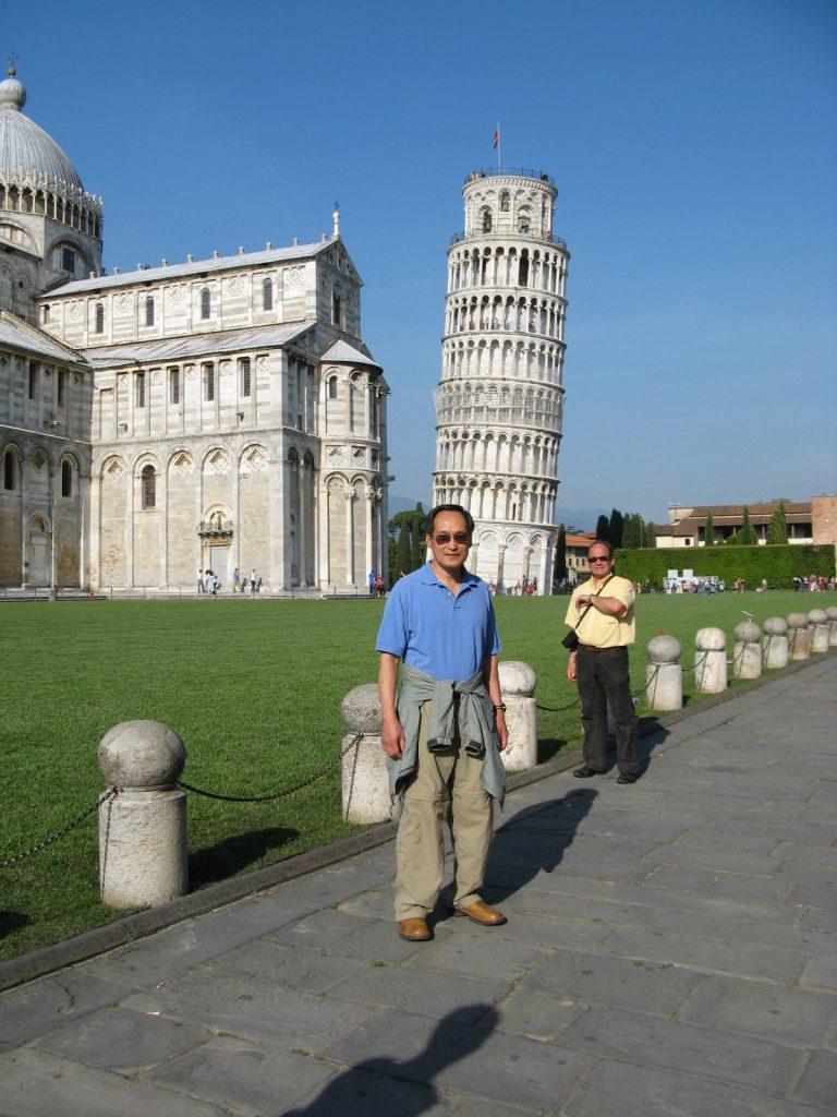 Ted Wong a Pisa foto di A. Tassi