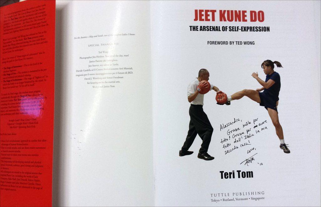 jeet kune do dediche libro Teri Tom e Ted Wong